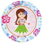 New Party Themes: Hawaiian Girl, Hello Kitty, & Friendly Frog