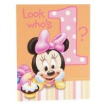 New Party Themes: Mickey's 1st Birthday, Minnie's 1st Birthday, Dr. Seuss 1st Birthday