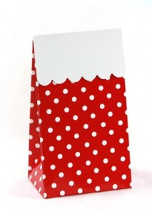 Polka Dot Treat Boxes
