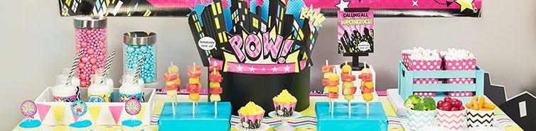 Superhero Girl Party Supplies